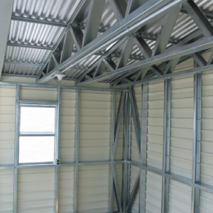Accusteel Truss Roof Section