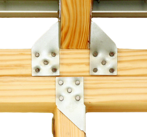 Rafter And Stud Connecting In Double Top Plate
