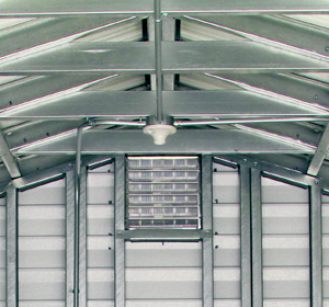 Accu-steel Rigid Roof Frame Sections