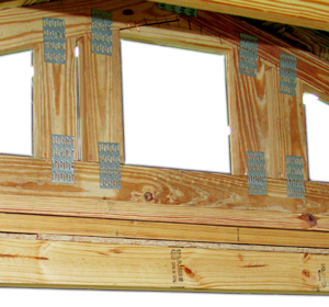 Solid 4x4 Door Lintel