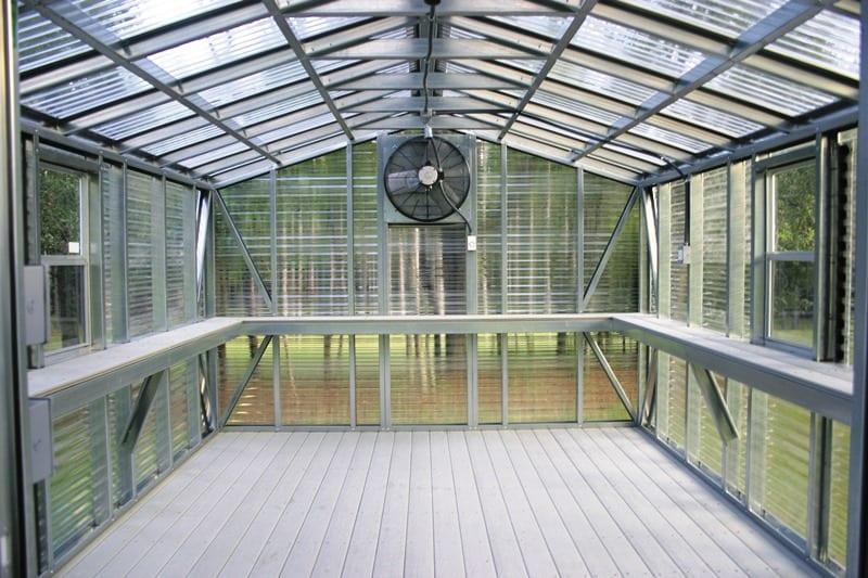 Accu Steel Greenhouse Portable Buildings Lark Builders
