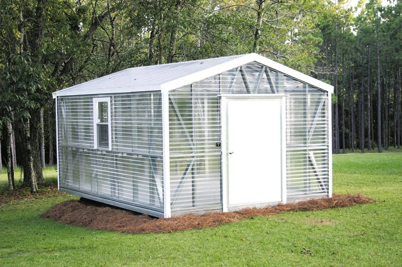 Accu Steel Greenhouse Portable Buildings Lark Builders