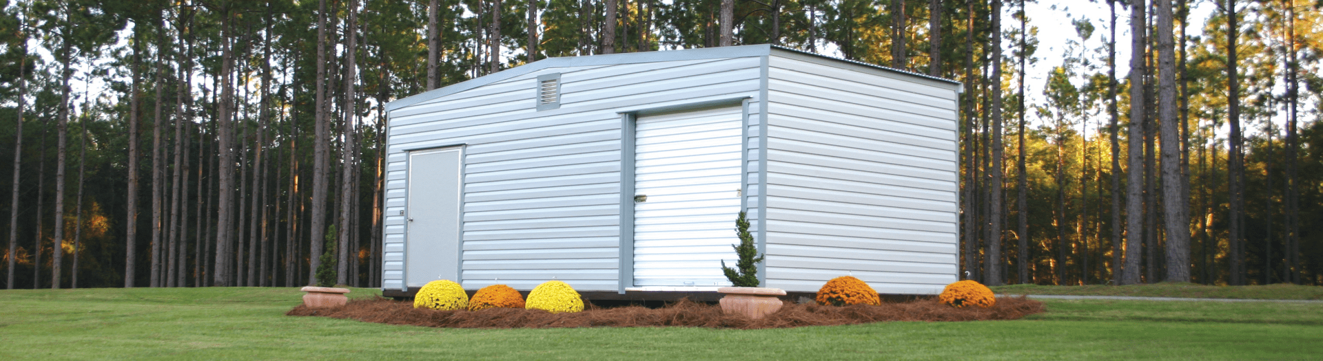 Manufacturer Portable Garages : Lark builders the standard in portable buildings
